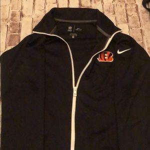 Nike Bengals NFL jacket size medium